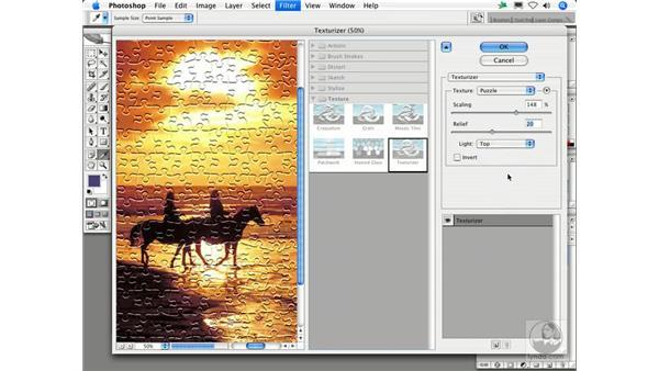Texturizer: Photoshop Filters