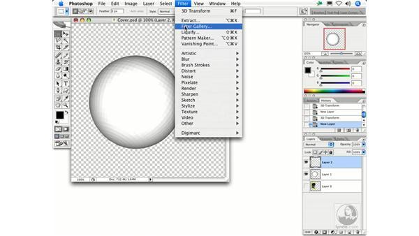 3D Transform: Photoshop Filters