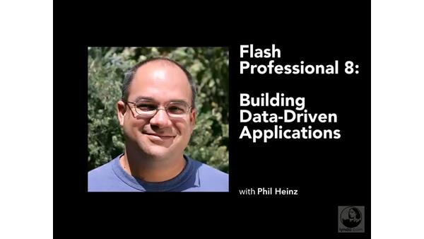 Welcome: Flash Professional 8 Building Data-Driven Applications