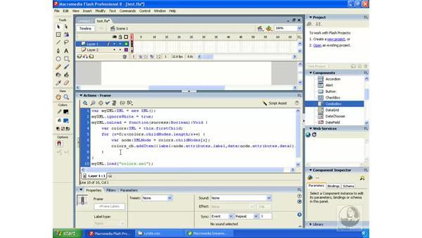 Data-driven applications: Flash Professional 8 Building Data-Driven Applications