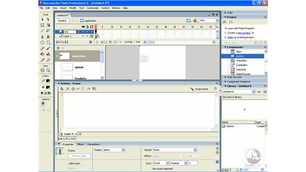 Using form applications pt. 3: Flash Professional 8 Building Data-Driven Applications