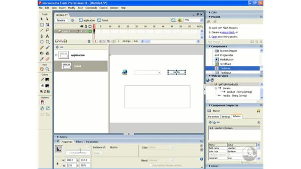 WebServiceConnector: Flash Professional 8 Building Data-Driven Applications