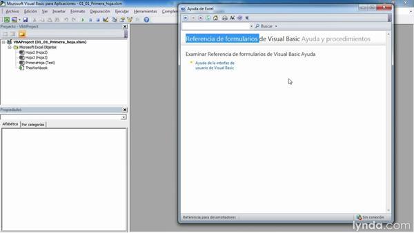 Ayuda de Excel online