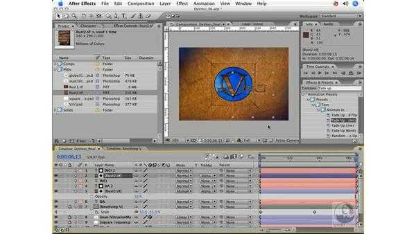 Adding texture to da Vinci: After Effects 7 Title Design Techniques