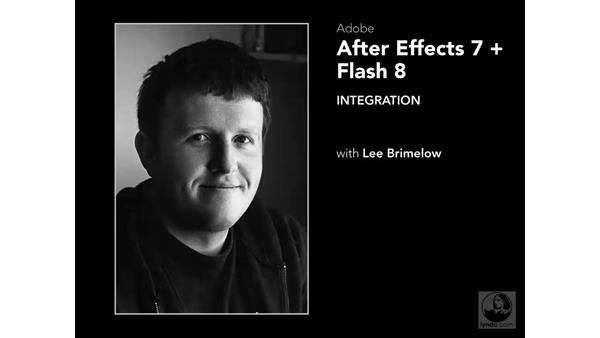 Welcome: After Effects 7 and Flash 8 Integration