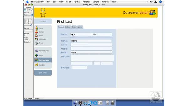 Tab order: FileMaker Pro 8.5 Essential Training