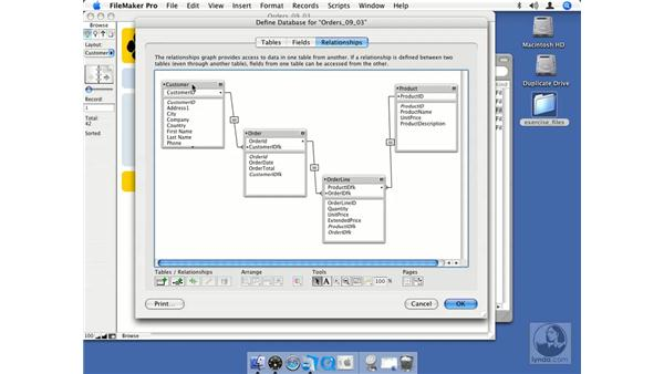 Tables vs. table occurrences: FileMaker Pro 8.5 Essential Training