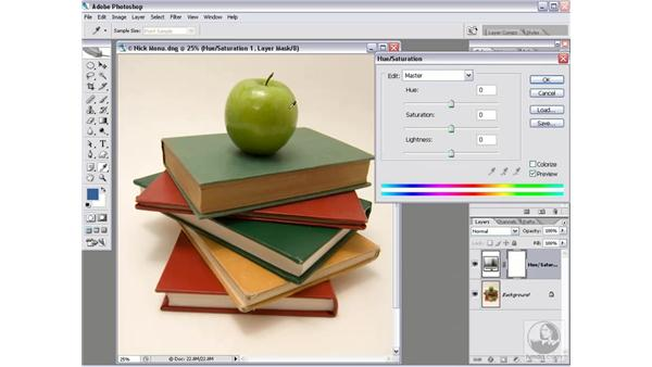 Changing one color independently of all others: Photoshop CS2 Mastering Camera Raw