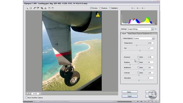 Combining multiple exposures: Photoshop CS2 Mastering Camera Raw