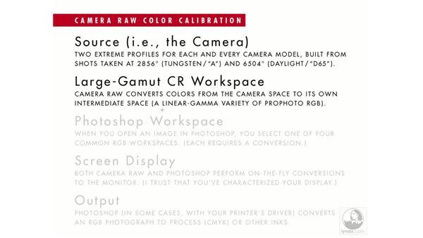 Camera Raw calibration: Photoshop CS2 Mastering Camera Raw