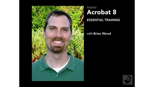 Welcome: Acrobat 8 Professional Essential Training