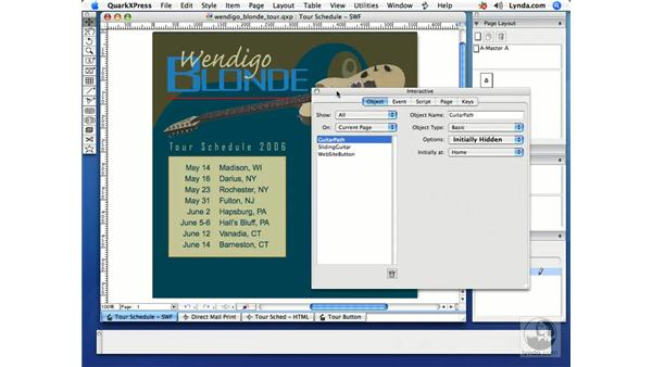 Added interface items: Getting Started with Quark Interactive Designer