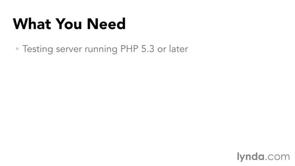 What you should know before watching this course: Up and Running with the Standard PHP Library