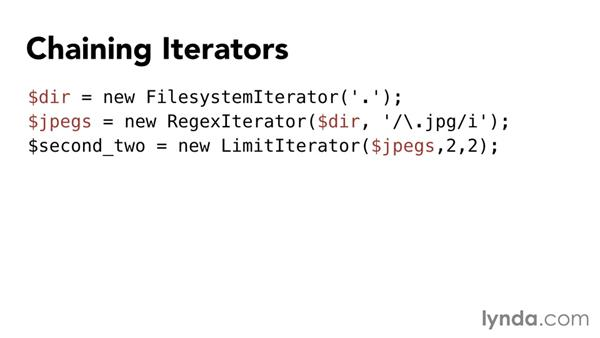 Using SPL iterators: Up and Running with the Standard PHP Library