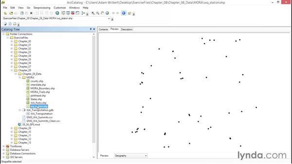 Exploring vector data: ArcGIS Essential Training