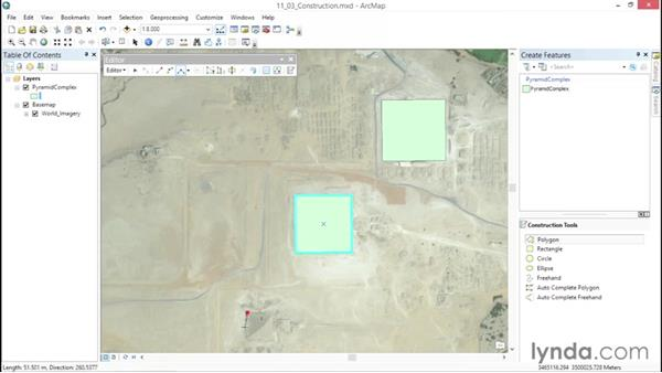 Using additional construction tools: ArcGIS Essential Training