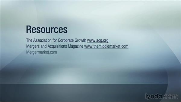 Additional resources: Mergers and Acquisitions