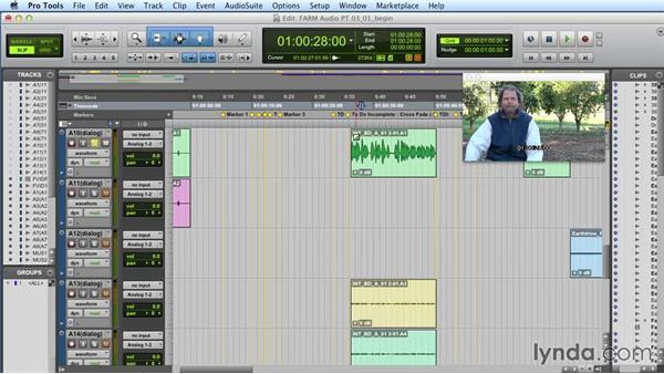 Choosing sources and assigning tracks: Audio Post Workflow with Final Cut Pro X v10.1.x and Pro Tools