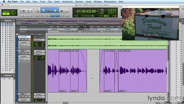 Using crossfades effectively: Audio Post Workflow with Final Cut Pro X v10.1.x and Pro Tools