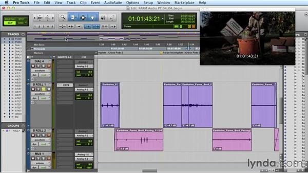 Using automation for volume and other parameters: Audio Post Workflow with Final Cut Pro X v10.1.x and Pro Tools