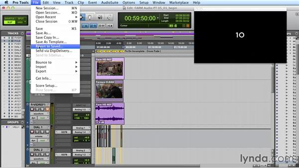 Exporting out of Pro Tools and back into FCP: Audio Post Workflow with Final Cut Pro X v10.1.x and Pro Tools