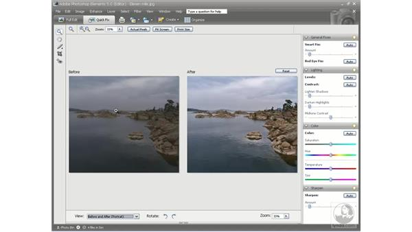 Getting around: Photoshop Elements 5 Essential Training