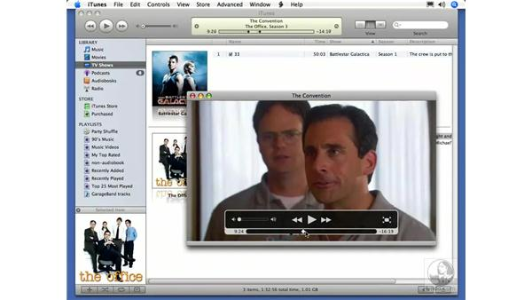 New movie controls: iTunes 7 New Features