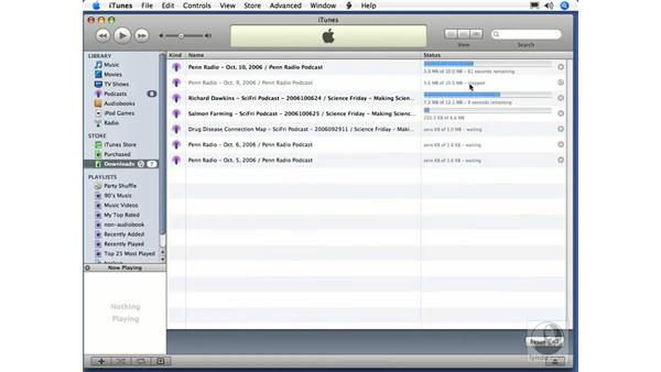 The Download Manager: iTunes 7 New Features