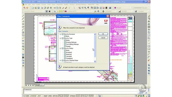 Exporting comments to AutoCAD: Acrobat 8 Professional Beyond the Basics