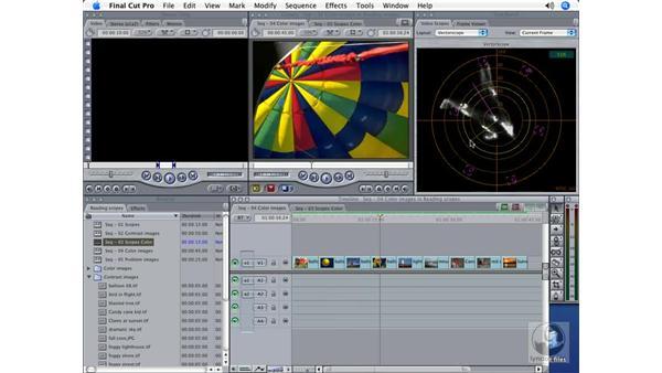 Determining color: Final Cut Pro 5 Color Correction