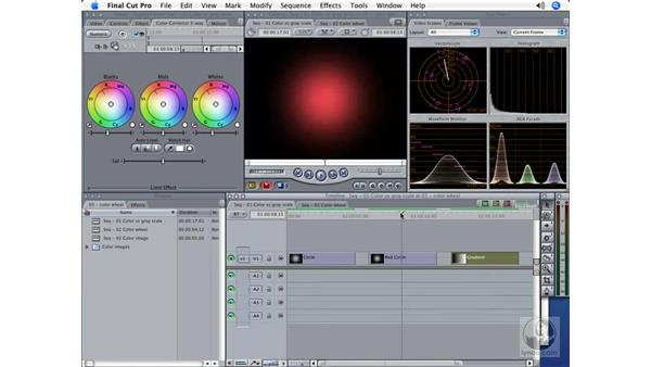 The Color Wheel: Final Cut Pro 5 Color Correction