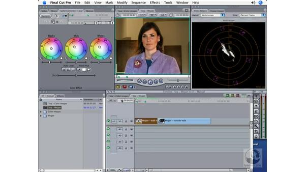 Complex color correction: Final Cut Pro 5 Color Correction