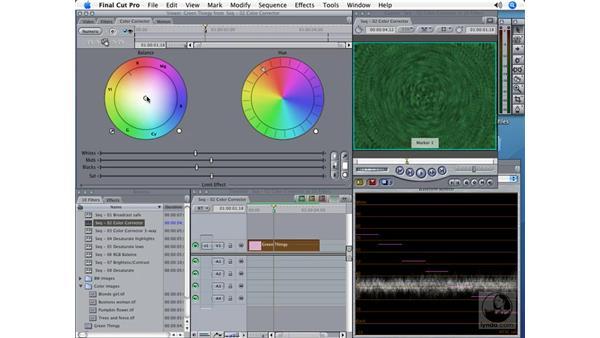 Color Corrector: Final Cut Pro 5 Color Correction