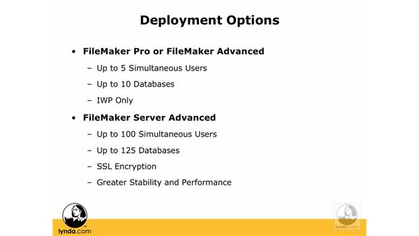 Instant Web Publishing options and browser requirements: FileMaker 8.5 Web Publishing
