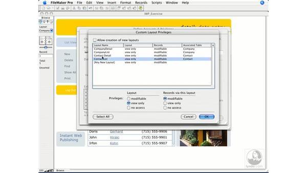 Preparing files for Instant Web Publishing: FileMaker 8.5 Web Publishing