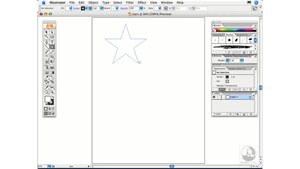 How can I draw stars and starbursts in Illustrator?: Illustrator CS2 FAQs