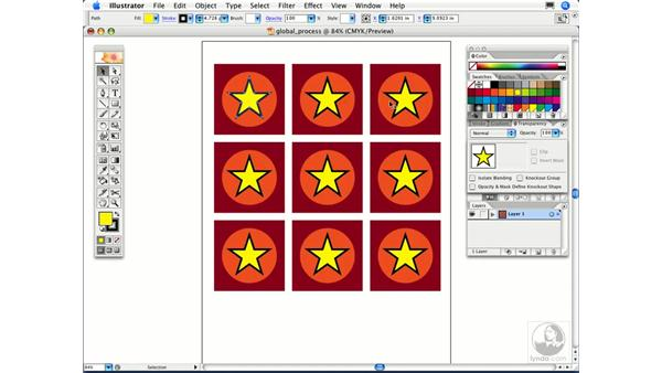 What are global process colors?: Illustrator CS2 FAQs
