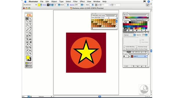 How can I quickly find a Pantone color?: Illustrator CS2 FAQs
