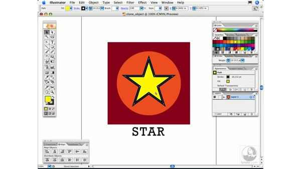 How can I clone an object in Illustrator?: Illustrator CS2 FAQs