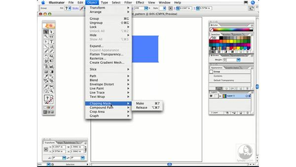 How can I use a gradient in a pattern swatch?: Illustrator CS2 FAQs