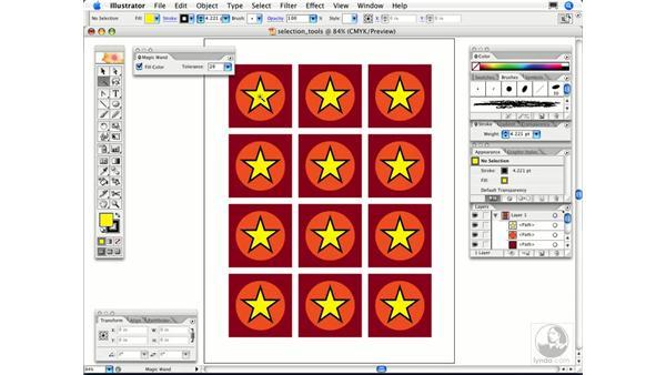 When do I use the Magic Wand?: Illustrator CS2 FAQs