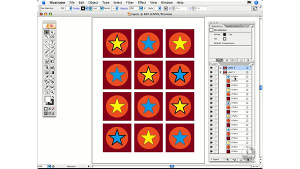 Why does Illustrator create layers for every object?: Illustrator CS2 FAQs