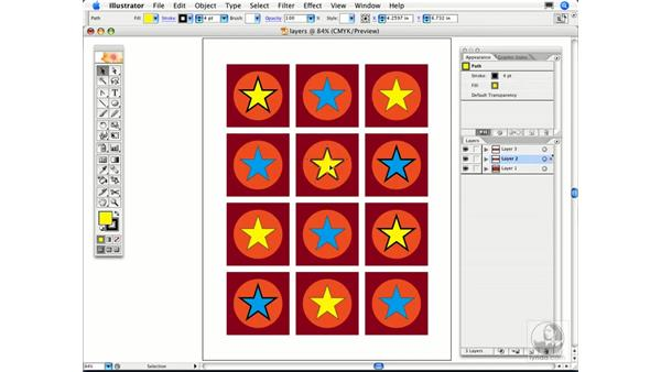 What is a layer color and what is it for?: Illustrator CS2 FAQs