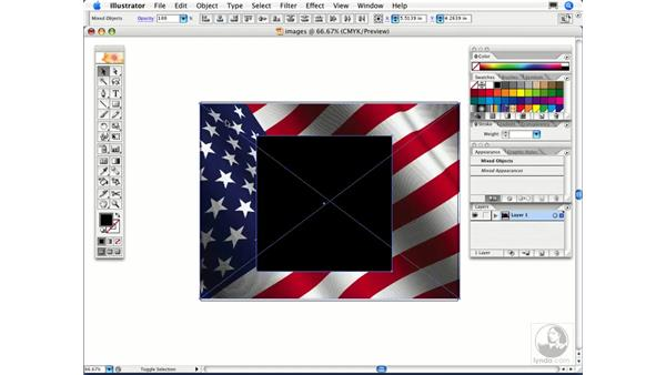 How do I crop a photograph in Illustrator?: Illustrator CS2 FAQs