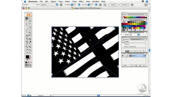 How can I convert a bitmapped image into vector art?: Illustrator CS2 FAQs