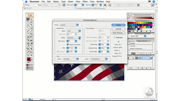 How do I specify my own colors when using Live Trace?: Illustrator CS2 FAQs