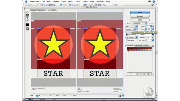 How do I export a GIF from Illustrator?: Illustrator CS2 FAQs