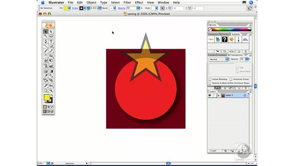 When I save my file as EPS, the dialog tells me that my document requires flattening. What is flattening, and do I have to do anything?: Illustrator CS2 FAQs