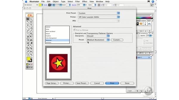 Is it safe to use transparency features for high-end printing?: Illustrator CS2 FAQs