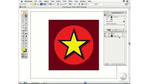Why doesn't certain artwork show up on my printout?: Illustrator CS2 FAQs